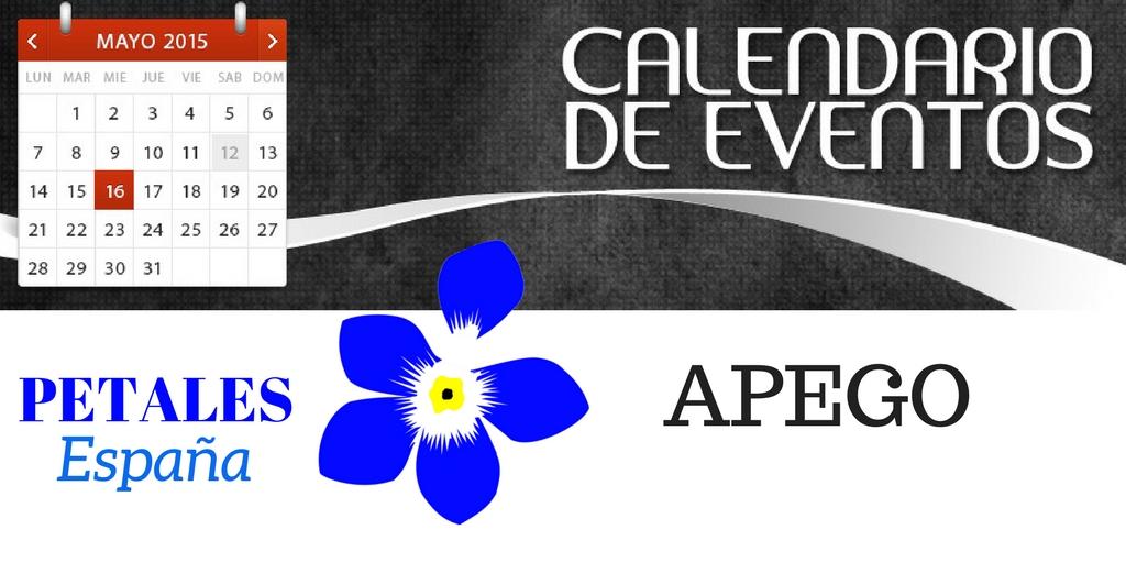 PETALES España hace público su Calendario de Eventos sobre Apego