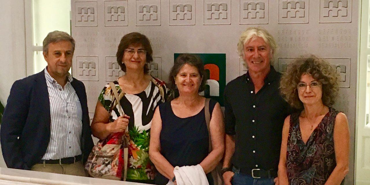 PETALES España con el Defensor del Pueblo Andaluz