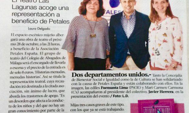 PETALES España, noticia en Mijas
