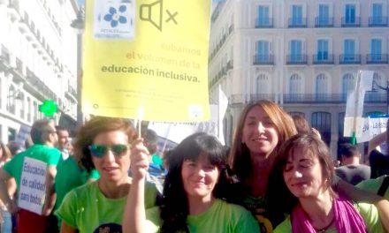 PETALES España apoyando la iniciativa legislativa popular por la Educación Inclusiva en Madrid