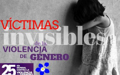 Los niños; víctimas INVISIBLES de la Violencia de Género.