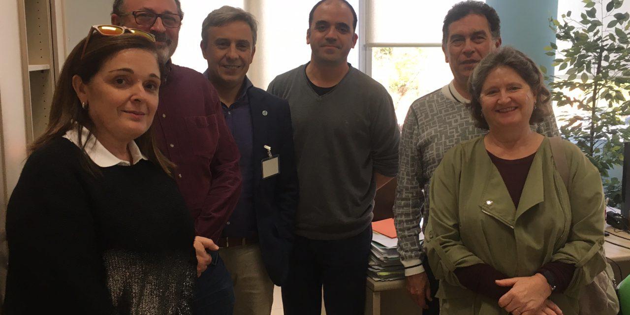PETALES España con el Director del Plan Integral de Salud Mental de Andalucía