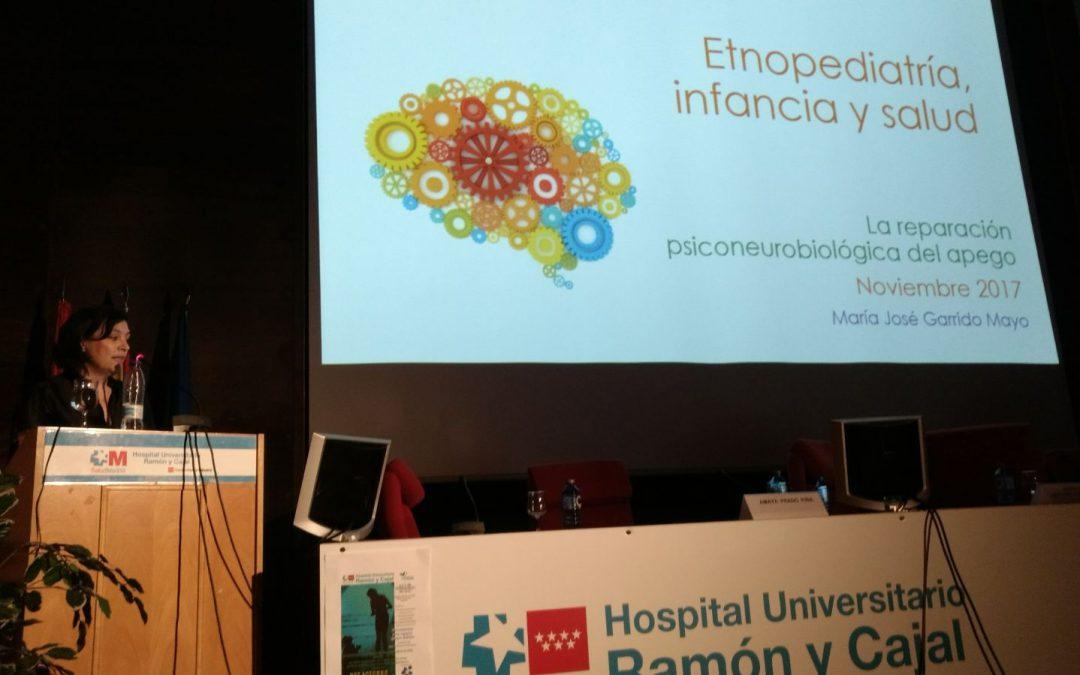 """Resumen de la ponencia """"Etnopediatría, infancia y salud"""", de Maria Jose Garrido Moya."""