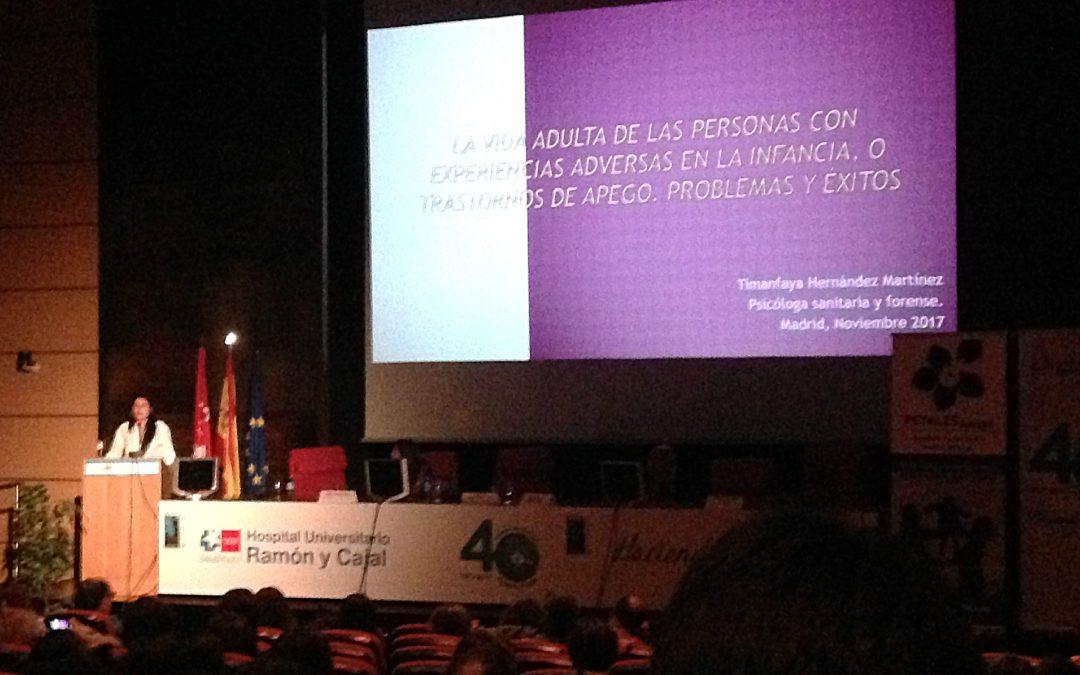 """Resumen de la Ponencia """"La vida adulta de las personas con experiencias adversas en la infancia, o trastornos de apego. Problemas y éxitos"""", de Timanfaya Hernández Martínez"""