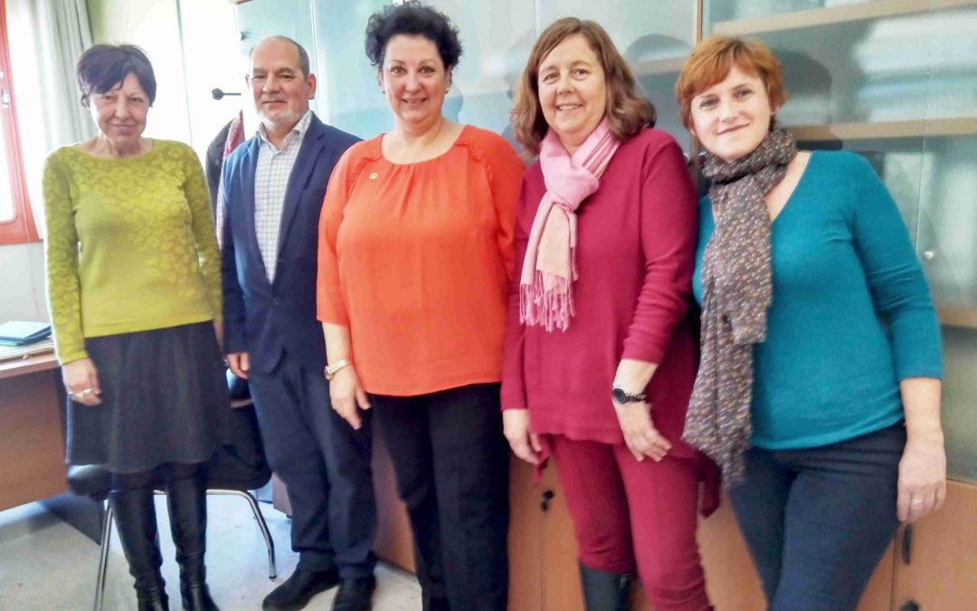 PETALES España en la Facultad de Trabajo Social de la Universidad Complutense de Madrid