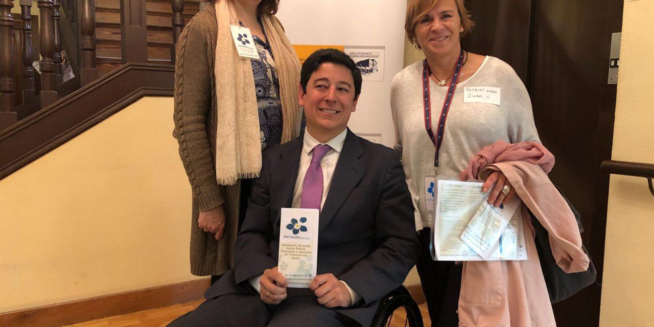 PETALES España en el Encuentro sobre Discapacidad  del Real Patronato sobre Discapacidad