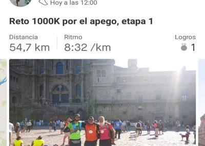 Reto 1000k etapa 1