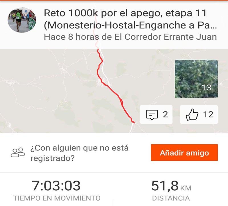Reto 1000k etapa 11