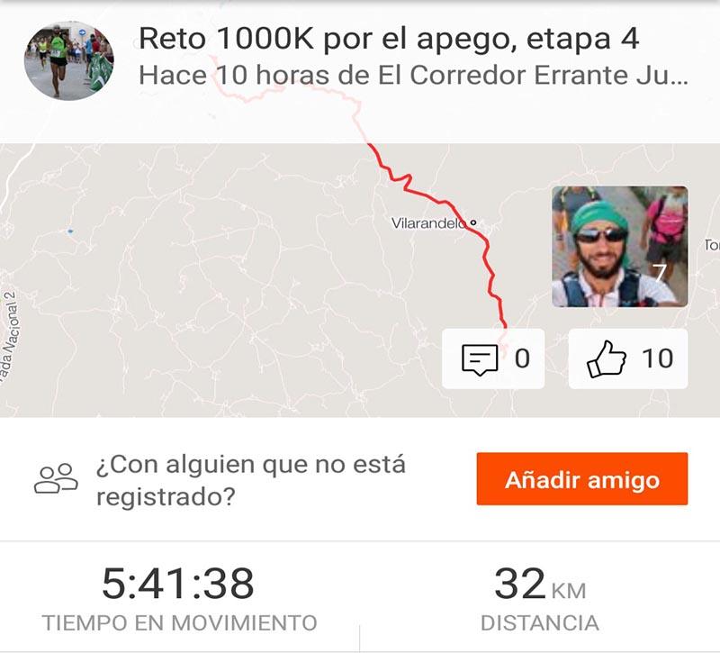 Reto 1000k etapa 4
