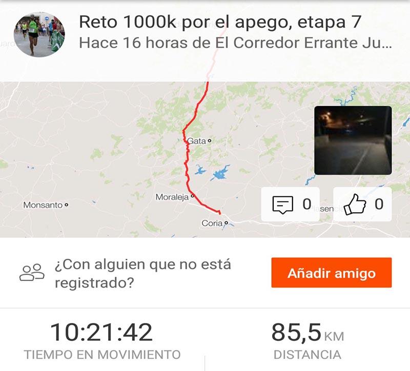 Reto 1000k etapa 7