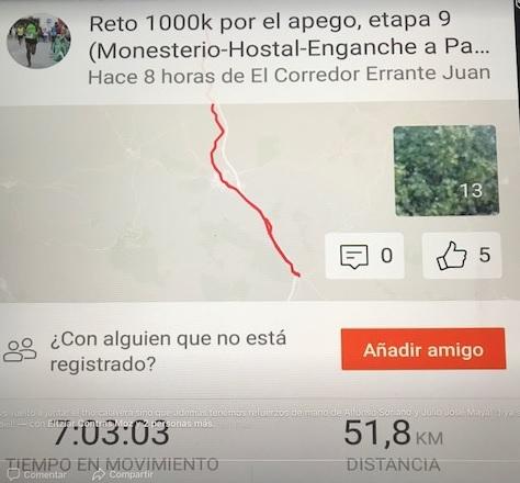 Reto 1000k etapa 9