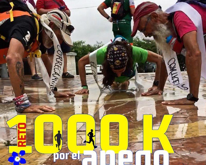 Crónica reto 1000k por Juan Andrés Camacho, el Corredor Errante