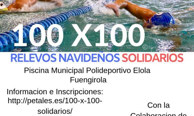 100 x 100 relevos navideños solidarios Fuengirola
