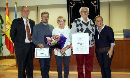 """El """"sueco del año"""", Eckhardt Metzner, dona su premio a PETALES España"""