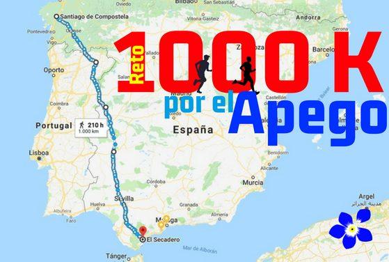Reto 1000k presentado al premio mas solidario Mi Grano de Arena