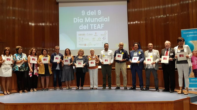 Acto conmemorativo del Día Mundial del TEAF en la sede del Ministerio de Sanidad