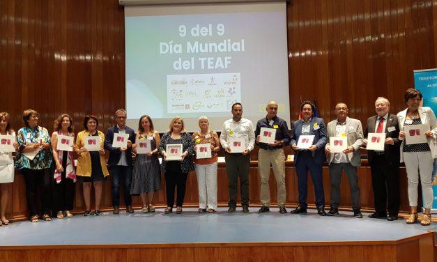 Acto conmemorativo del Día Mundial del TEAF en la sede del Ministerio de Sanidad, Madrid