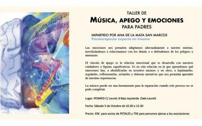 TALLER VIVENCIAL DE MUSICOTERAPIA, APEGO Y EMOCIONES