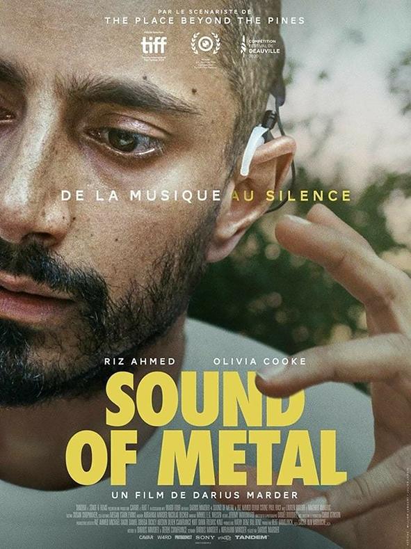 Cartel de la pelicula El Sonido del metal que nos sirve para entender la aceptacion